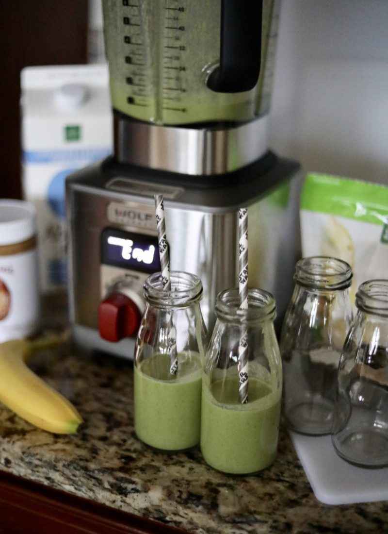 Spring Break Green Smoothie