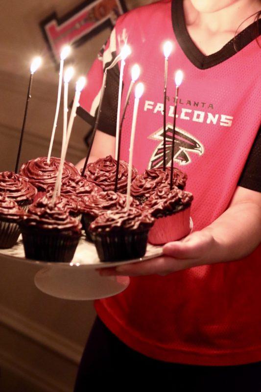 Ten Candles Birthday Girl