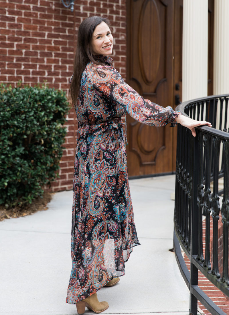Banana Republic Olivia Palermo Paisley Dress