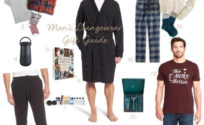 2017 Men's Loungewear Gift Guide