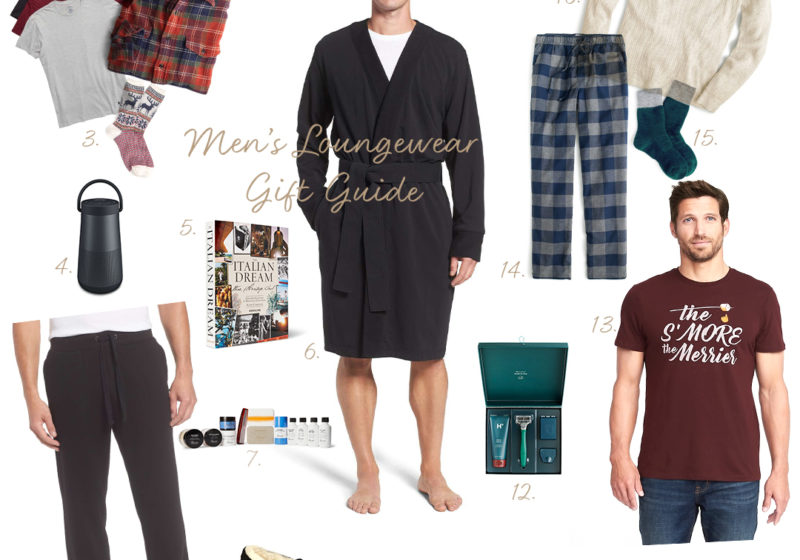 2017 Men's Loungewear Gift Guide