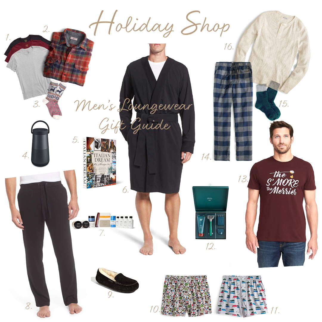 Men's Loungewear Gift Guide