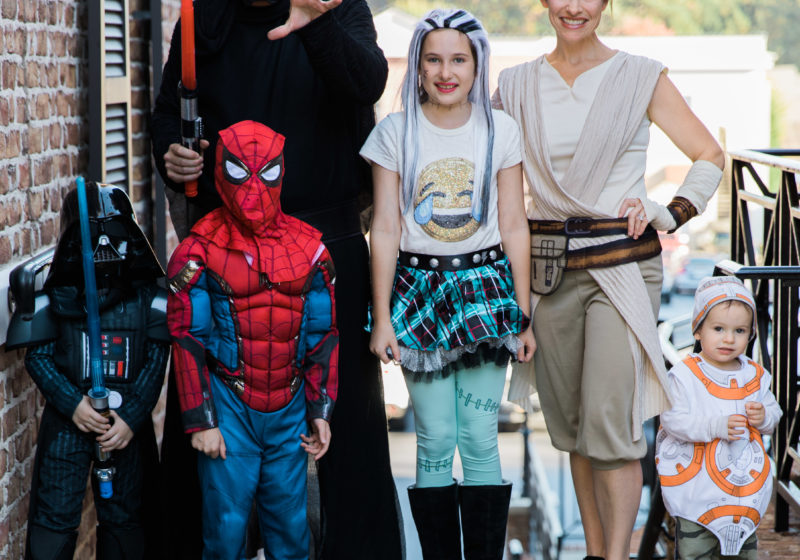 Halloween Star Wars Family