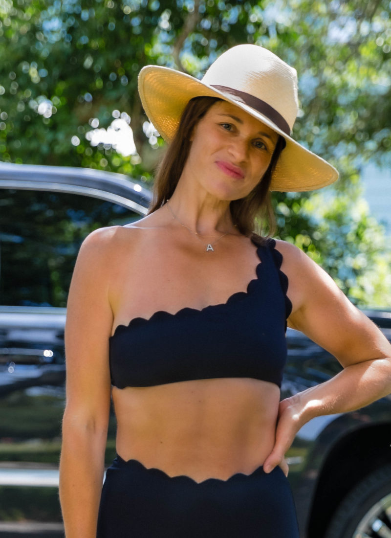 Marysia One Shoulder Bikini