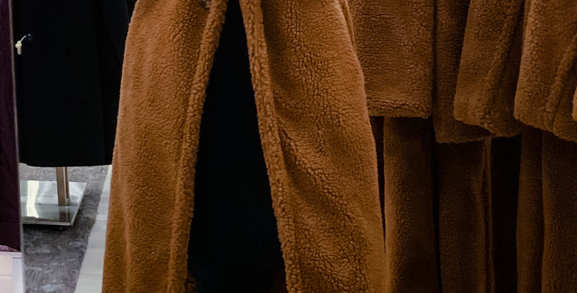 Bardot Faux Fur Long Coat