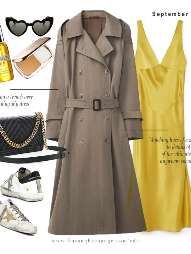 Yellow Dress Toteme Trench Golden Goose CHANEL